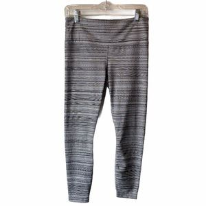 Athleta High Rise Chaturanga Jacquard Leggings M